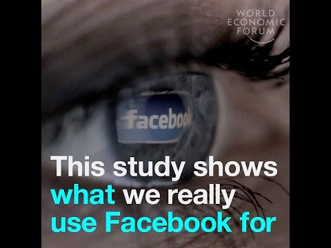 This study shows what we really use Facebook for