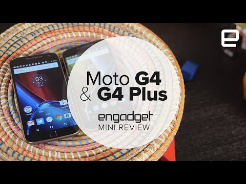 Moto G4 and G4 Plus: Mini Review