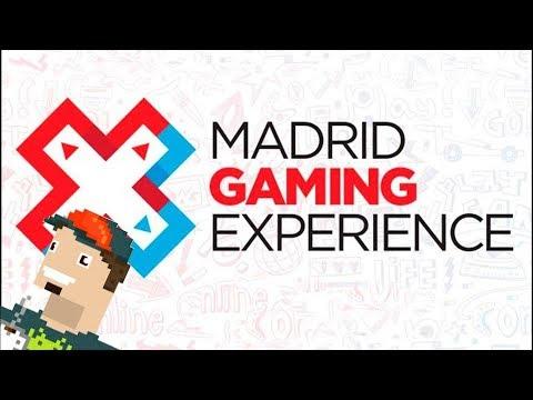 Compras y feria Madrid Gaming Experience 2017