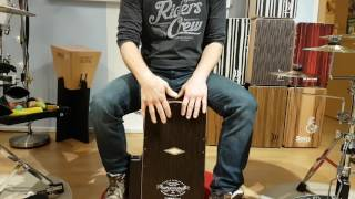 Played a Live by Safri Duo on Cajon (Part 1 played 30% slower)