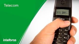 Telecom | Intelbras TS 40 - Telefone DECT sem fio