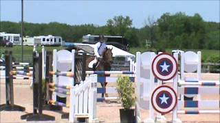 Sassafras C at blue Rock Classic 2013 JrAO Jumpers Friday