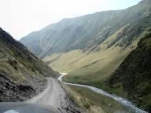Roads in Tusheti/Drogi w Tuszetii/თუშეთი/тушети