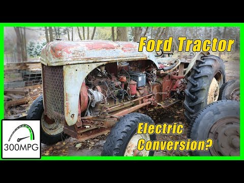 Funky Ford 8N Tractor for Electric Conversion?