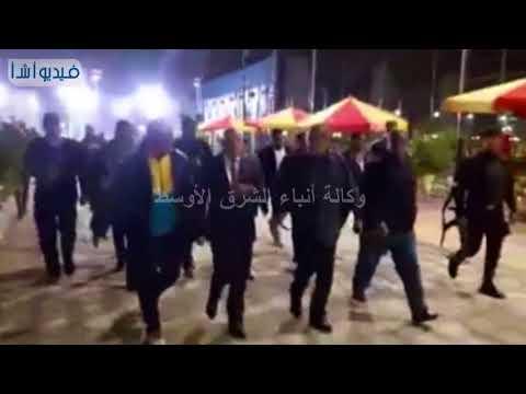 بالفيديو : محافظ بورسعيد يتفقد القرية الرياضية بمدينه بورسعيد قبيل الافتتاح الرسمي لها قريبا