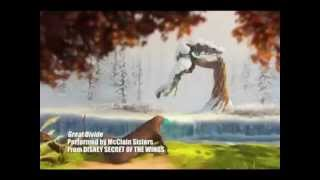 Tinkerbell Sountrack The Great Divide vídeo musical oficial Tinkerbell secret of the wings