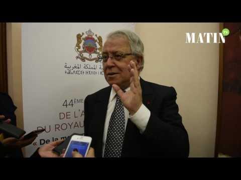 Déclaration de Abdeljalil Lahjomri, secrétaire perpétuel de l'Académie du Royaume du Maroc