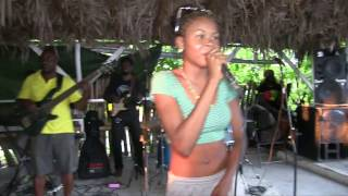 "Iesha Sterling: ""Sea of Love"", Drifters Beach Bar, Negril, Jamaica 2016"