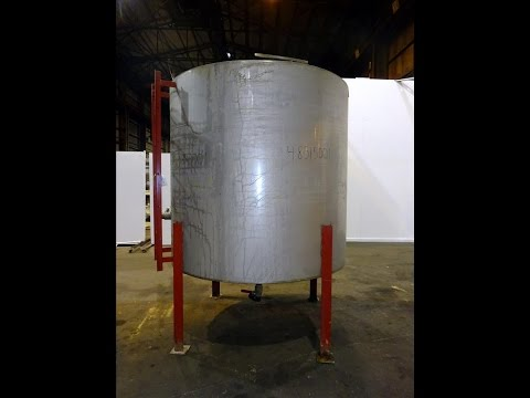 Used- Tank, Approximately 1500 gallon - stock # 48515001