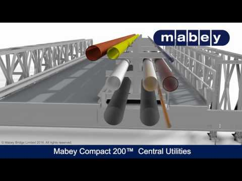 Compact 200™ Bridge used for Central Utilities pipes