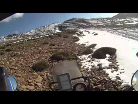Marokko 2011 Passüberquerung im hohen Atlas mit KTM Adventure