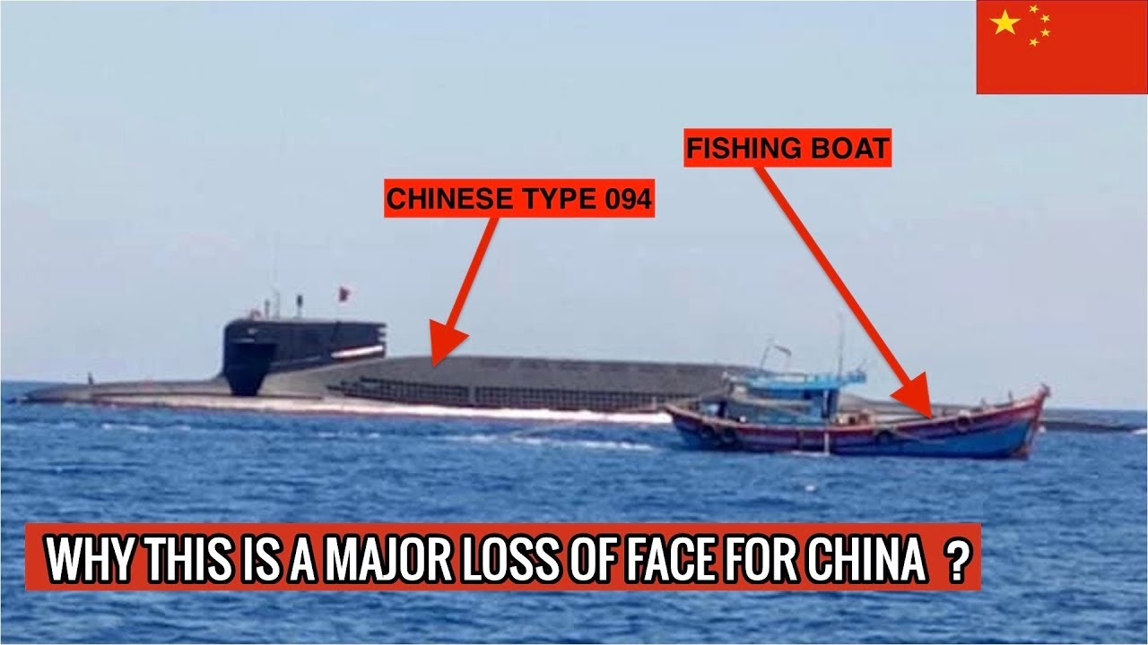 Chinese Type 094 Jin Class Submarine