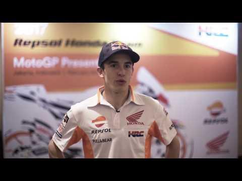 Interview with Repsol Honda Team's Marc Marquez