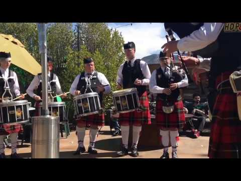 High Desert Pipes & Drums on St. Patrick's Day