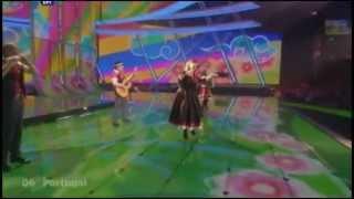 Flor-de-Lis - Todas as ruas do amor (Eurovision 2009 - Portugal) Broadcasting By ERT