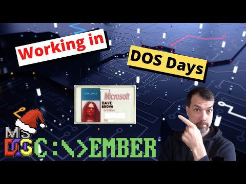 DOScember Interview With a Former Microsoft Employee #DOScember