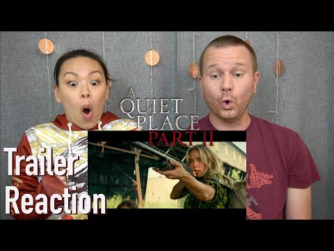A Quiet Place Part 2 Final Trailer // Reaction & Review