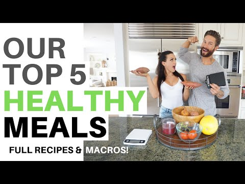 TOP 5 HEALTHY MEALS – Easy Ideas + Full Recipes!