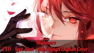 Nightcore → Love Shot (Female Ver. + English Lyrics)