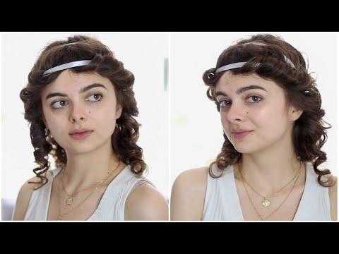 Ancient Greek Bound Hairstyle | 500 B.C. Hair Tutorial