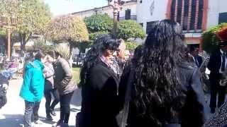 SANTIAGO  ELISABETH I. DE LA CATEDRAL DE HUANCAYO AL LOCAL LOS ANDES
