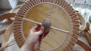 Bęben szamański  shamanic drum made by Anna Szyszka