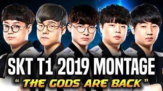 SKT T1 2019 MONTAGE