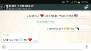 Made In The Usa - Demi Lovato (cover by Vanquish /w WhatsApp lyrics)