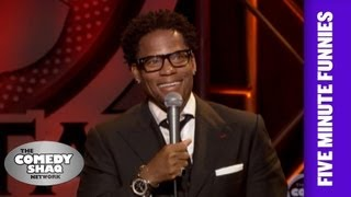 D.L. Hughley⎢A lot of athletes are in trouble⎢Shaq's Five Minute Funnies⎢Comedy Shaq