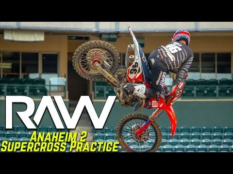 Anaheim 2 Supercross Practice RAW - Motocross Action Magazine