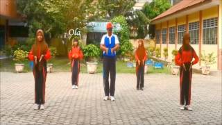 Senam Gemu Fa Mi Re + Pinguin dance Senam terbaru SMP Dharma Pancasila Medan mp4