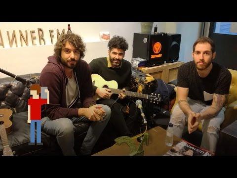 Entrevista y concierto acústico de Izal en Indie Lovers | scannerFM