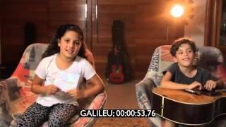 CD Galileu - Crianças em ação [Bastidores das Gravações]