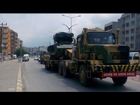 Türkiye-Suriye sınırında askeri hareketlilik