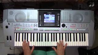 Saudade - instrumental teclado Cover Arirrany ( Cristian & Ralf )