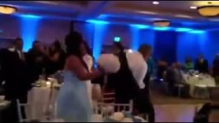 Epic wedding dance fail. MUST WATCH