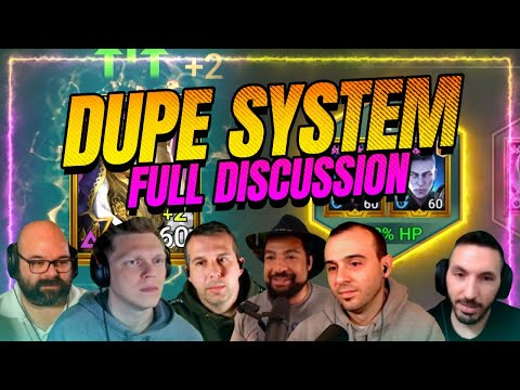 FULL Dupe System Discussion | Will it work? | RAID Shadow Legends