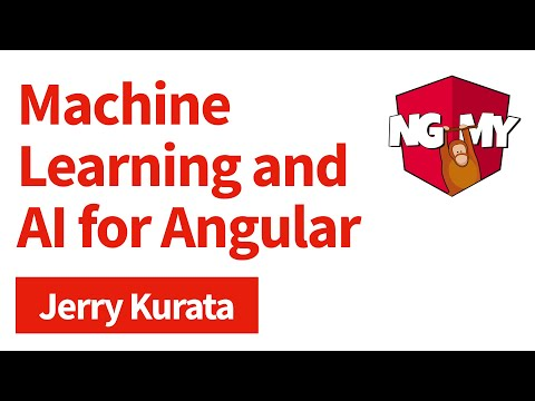 Machine Learning and AI for Angular Developers