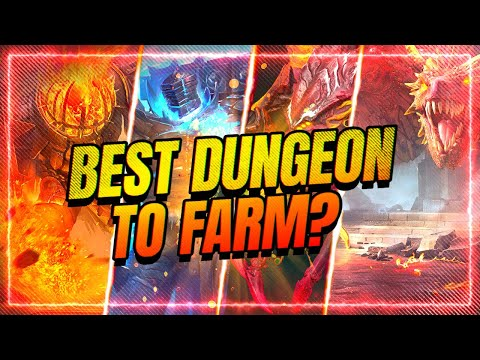 WHICH DUNGEON IS BEST TO FARM?! | RAID Shadow Legends