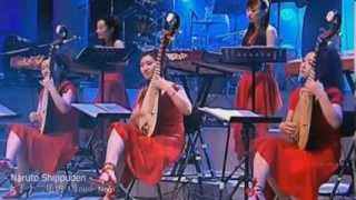Naruto Shippuden - Sinfonia Nro I - Instrumental LIVE JAPAN