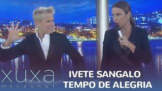 """Ivete Sangalo agita com """"Tempo de Alegria"""""""