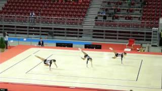 Световно по спортна аеробика София 2012 - отбор 2 15-17 г. БГ