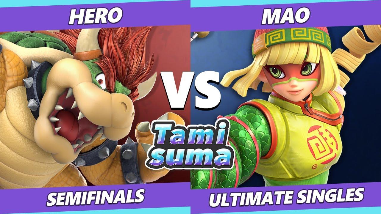 VGBootCamp - TAMISUMA 219 Semifinals - Hero (Bowser) Vs. Mao (Min Min) SSBU Smash Ultimate
