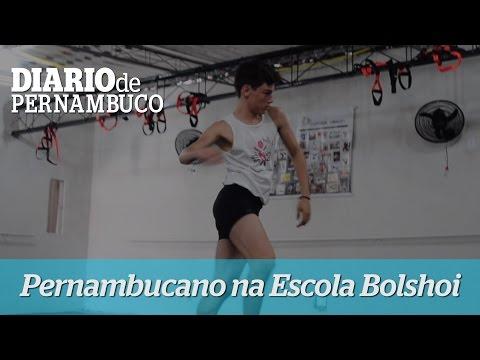 Pernambucano conquista vaga na Escola Bolshoi