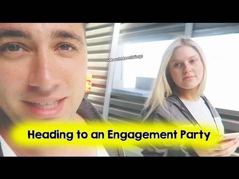 Heading to an Engagement Party | MooshMooshVlogs