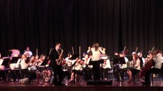 Flight of the Bumblebee for Alto Saxophone and Orchestra