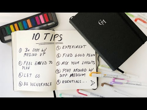 10 TIPS EVERY JOURNALING BEGINNERS SHOULD KNOW | ANN LE