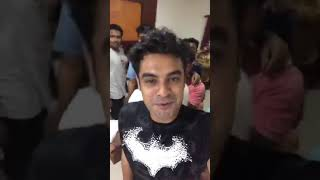 Tovino Live Video funny l Theevandi Movie Pack up |