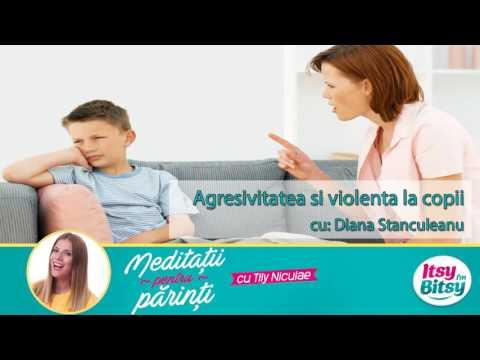 Agresivitatea si violenta pentru copii