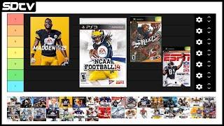 Football Video Game TIER LIST